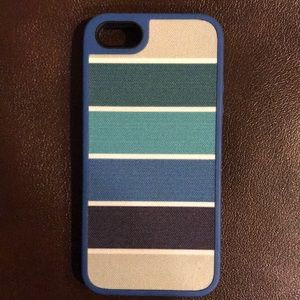 Accessories - Blue striped speck iPhone 5s case